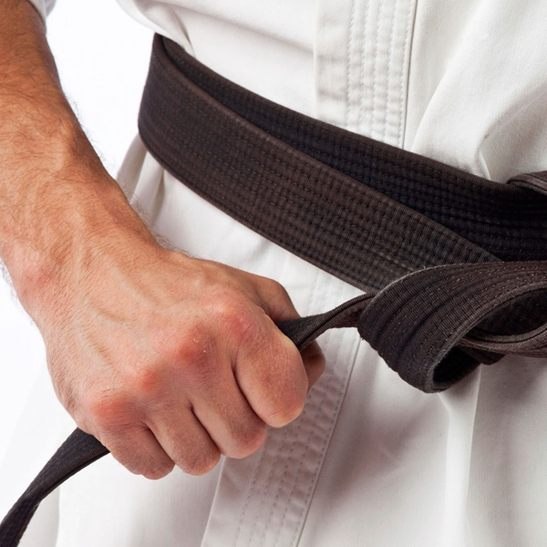 Black Karate Belt