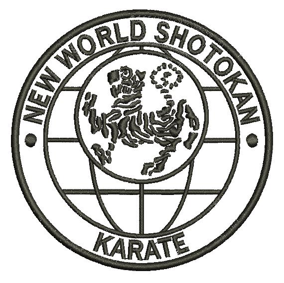 NWS_Logo Gi Badge SHOTOKAN KARATE